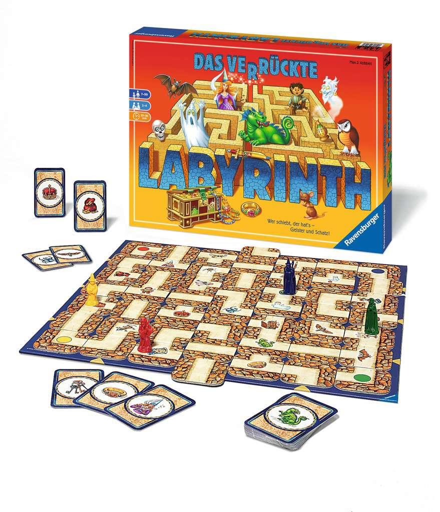 Anleitung Das Verrückte Labyrinth