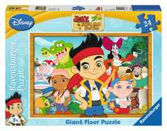 Jake and the Neverland Pirates Giant Floor Puzzle, 24pc - image 1 - Click to Zoom