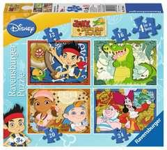 Jake and the Neverland Pirates, 4 in Box - image 1 - Click to Zoom