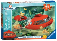 Octonauts Gup X to the Rescue, 35pc - image 1 - Click to Zoom