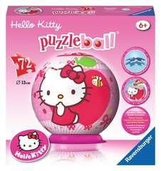 Hello Kitty - Sweet to the Core 3D Puzzle, 72pc - image 1 - Click to Zoom