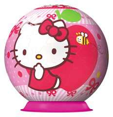 Hello Kitty - Sweet to the Core 3D Puzzle, 72pc - image 2 - Click to Zoom