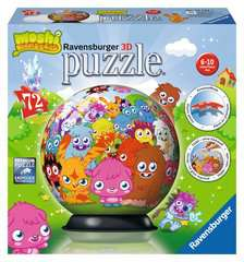 Moshi Monsters 3D Puzzle, 72pc - image 1 - Click to Zoom