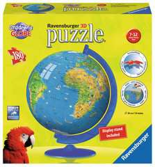Children´s World Map 3D Puzzle®, 180pc - image 1 - Click to Zoom
