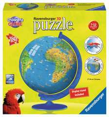 Children´s World Map 3D Puzzle®, 180pc - image 2 - Click to Zoom