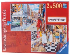 Carnaby Street, 2x500pc - image 1 - Click to Zoom
