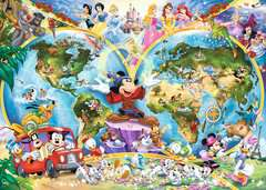 Disney World Map, 1000pc - image 2 - Click to Zoom