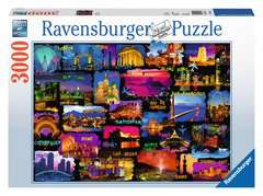 Around the World, 3000pc - image 1 - Click to Zoom