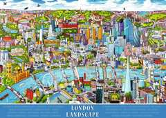 London - landscape, 1000pc - image 2 - Click to Zoom
