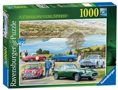 A Passion for Speed, 1000pc - image 1 - Click to Zoom