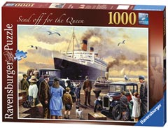 Send off for the Queen, 1000pc - image 2 - Click to Zoom