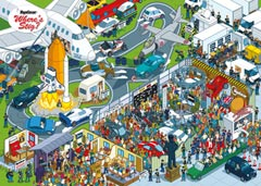 TOP GEAR Where's Stig, Studio, 1000pc - image 1 - Click to Zoom