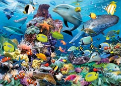 Jewels of the Sea, 1000pc - image 2 - Click to Zoom