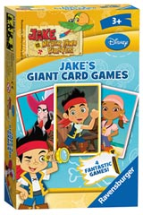 Disney Jake and the Neverland Pirates: Jake's Giant Card Game - image 1 - Click to Zoom