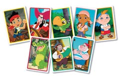 Disney Jake and the Neverland Pirates: Jake's Giant Card Game - image 2 - Click to Zoom