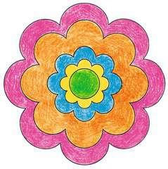 Mini Mandala-Designer® Flower Power - image 4 - Click to Zoom