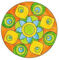 Mini Mandala-Designer® Flower Power - image 8 - Click to Zoom