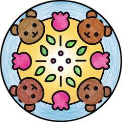 JUNIOR Mandala-Designer® Hello Kitty - immagine 6 - Clicca per ingrandire
