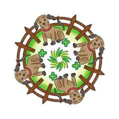 2-in-1 Mandala-Designer® Little Pets - image 11 - Click to Zoom