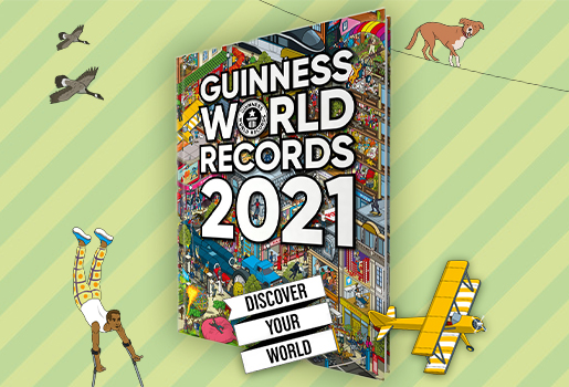 Guiness World Records 2021 Buch