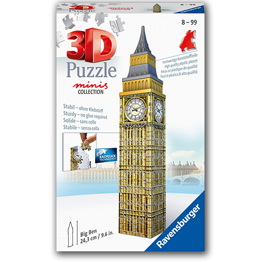 3d Puzzle minis collection Big Ben