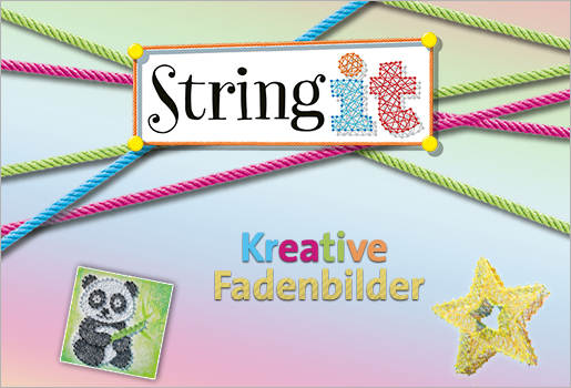 String it - Kreative Farbenbilder