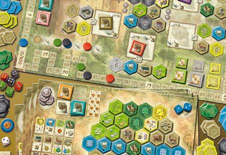 Die Burgen von Burgund - alea Spiel von Ravensburger