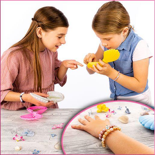 Armband basteln mit Teasure Pearls