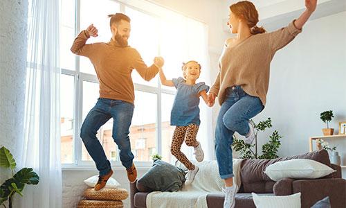 Tanzen mit Kind