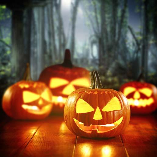 Halloween Spiele für Kinder: Kürbisschnitzen