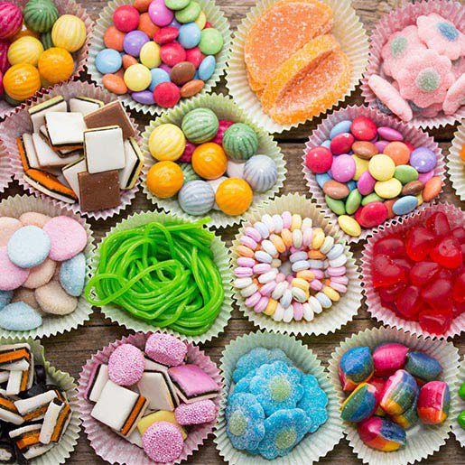 Süßigkeiten für den Kindergeburtstag