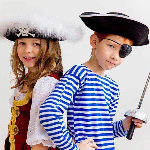 Kindergeburtstagsmotto für Abenteurer: Piraten