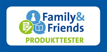 Family & Friends Produkttester Logo