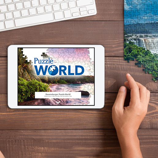 Ravensburger Puzzle World - Digitales Puzzeln