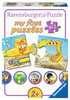 Tierische Baustelle Puzzle;Kinderpuzzle - Ravensburger