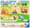 Lievelingsvoertuigen Puzzels;Puzzels voor kinderen - Ravensburger