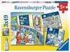 Tom and Mia go on a space mission Puslespil;Puslespil for børn - Ravensburger
