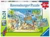 Die Abenteuerinsel          2x24p Puslespil;Puslespil for børn - Ravensburger