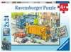 Vuilniswagen en sleepwagen Puzzels;Puzzels voor kinderen - Ravensburger