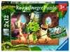 De kleine dino-bende Puzzels;Puzzels voor kinderen - Ravensburger