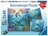 Tierwelt des Ozeans       3x49p Puslespil;Puslespil for børn - Ravensburger