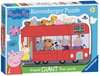 London Bus Shaped Giant Floor Puzzle, 24pc Puzzles;Children s Puzzles - Ravensburger