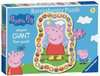 Peppa Pig Shaped Floor Puzzle, 24pc Puzzles;Children s Puzzles - Ravensburger
