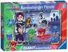 PJ Masks Giant Floor Puzzle Puzzles;Children s Puzzles - Ravensburger