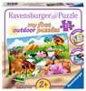 My first outdoor puzzle - Adorables animaux de la ferme Puzzle;Puzzle enfant - Ravensburger
