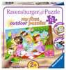My first outdoor puzzle - Princesses amies Puzzle;Puzzle enfant - Ravensburger