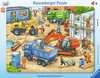 Velká stavební auta 40 dílků 2D Puzzle;Dětské puzzle - Ravensburger