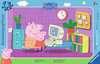 Puzzle cadre 15 p - Devant l ordinateur / Peppa Pig Puzzle;Puzzle enfant - Ravensburger