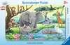 Africká zvířata 15 dílků 2D Puzzle;Dětské puzzle - Ravensburger