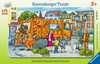 Unterwegs mit der Müllabfuhr Puzzle;Kinderpuzzle - Ravensburger